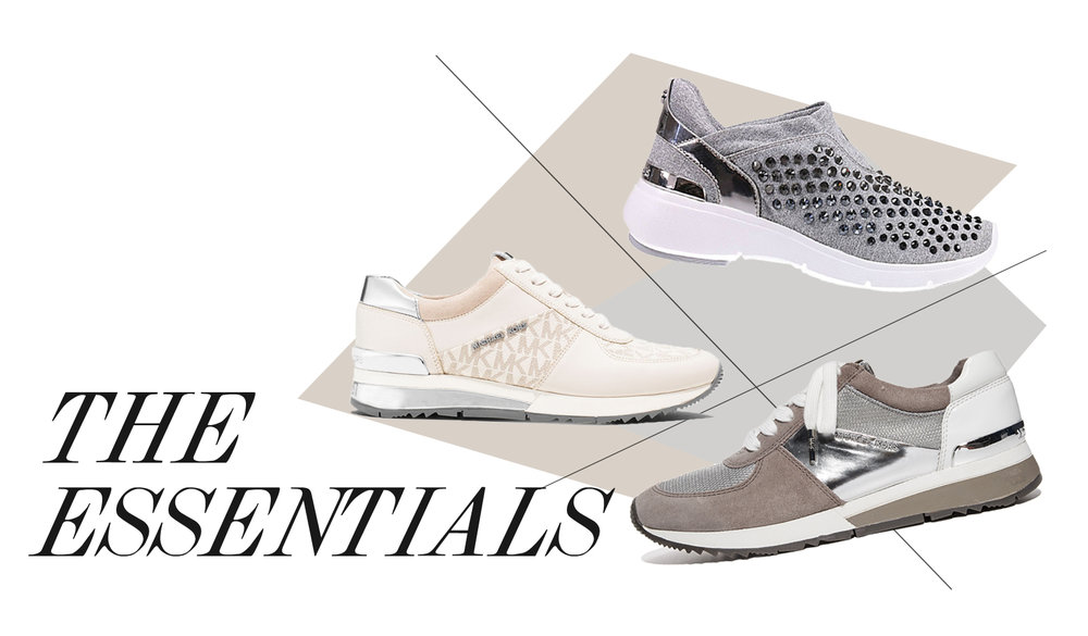 Sporty-Chic sneakers will be your new OBSESSION. #MichaelKors #loveFAV