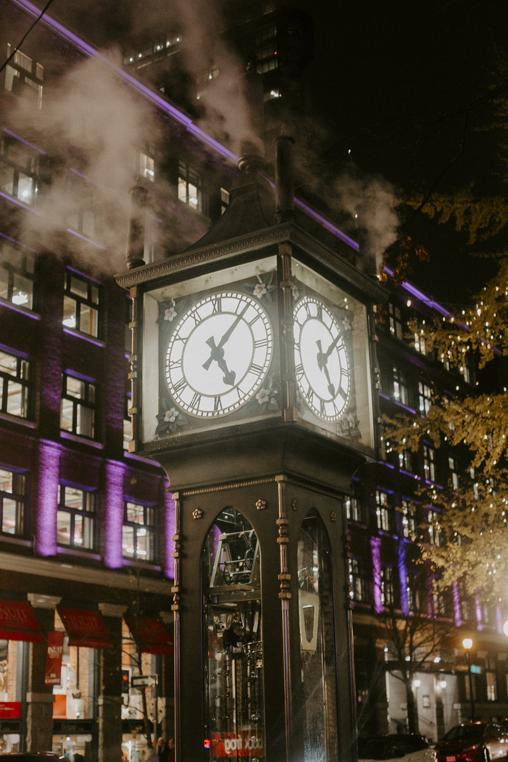 Steam Clock, Vancouver