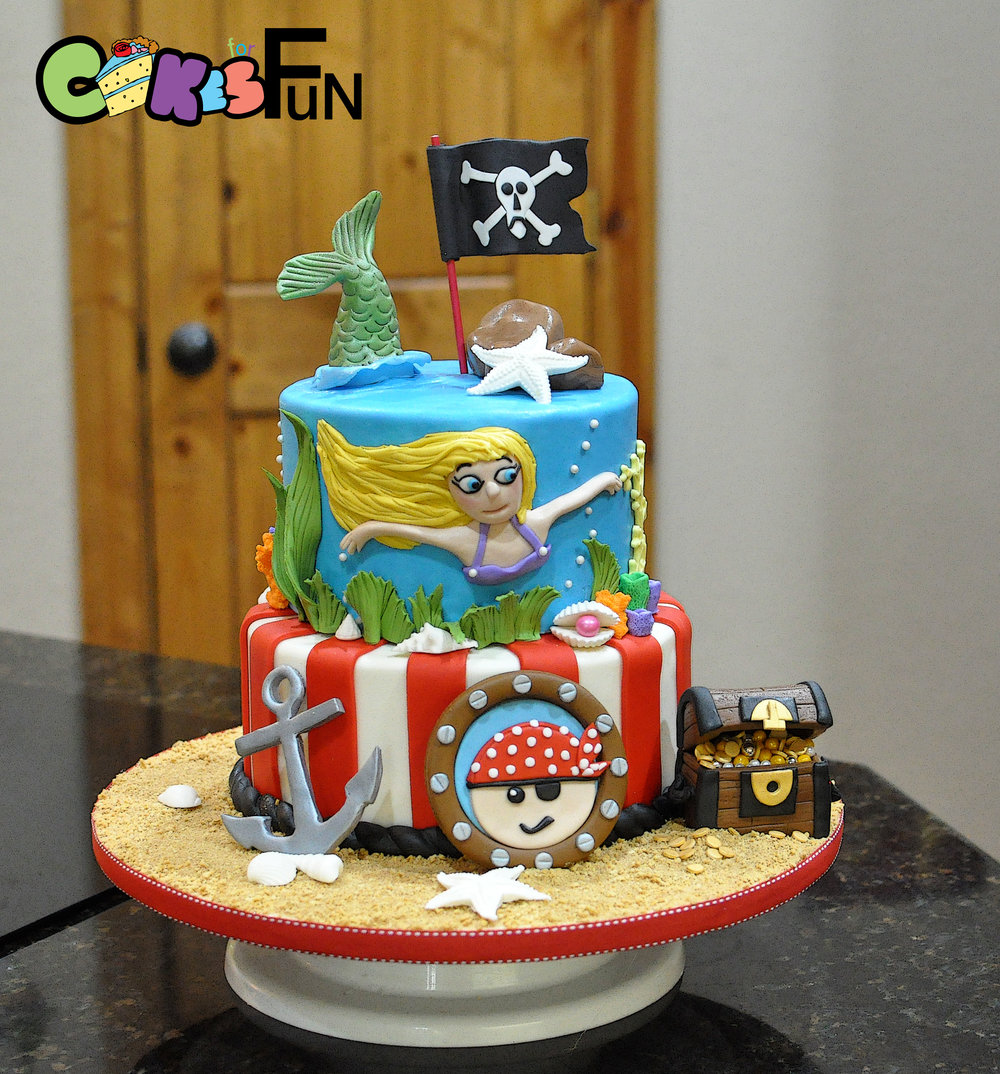 Pirate and mermaid cake-2.jpg