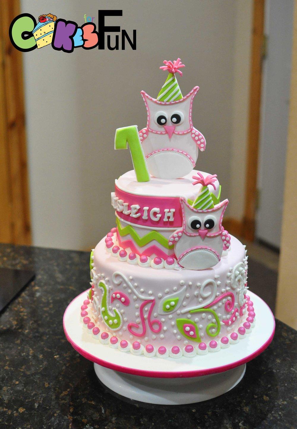 Owl Cake-2 tiered.jpg