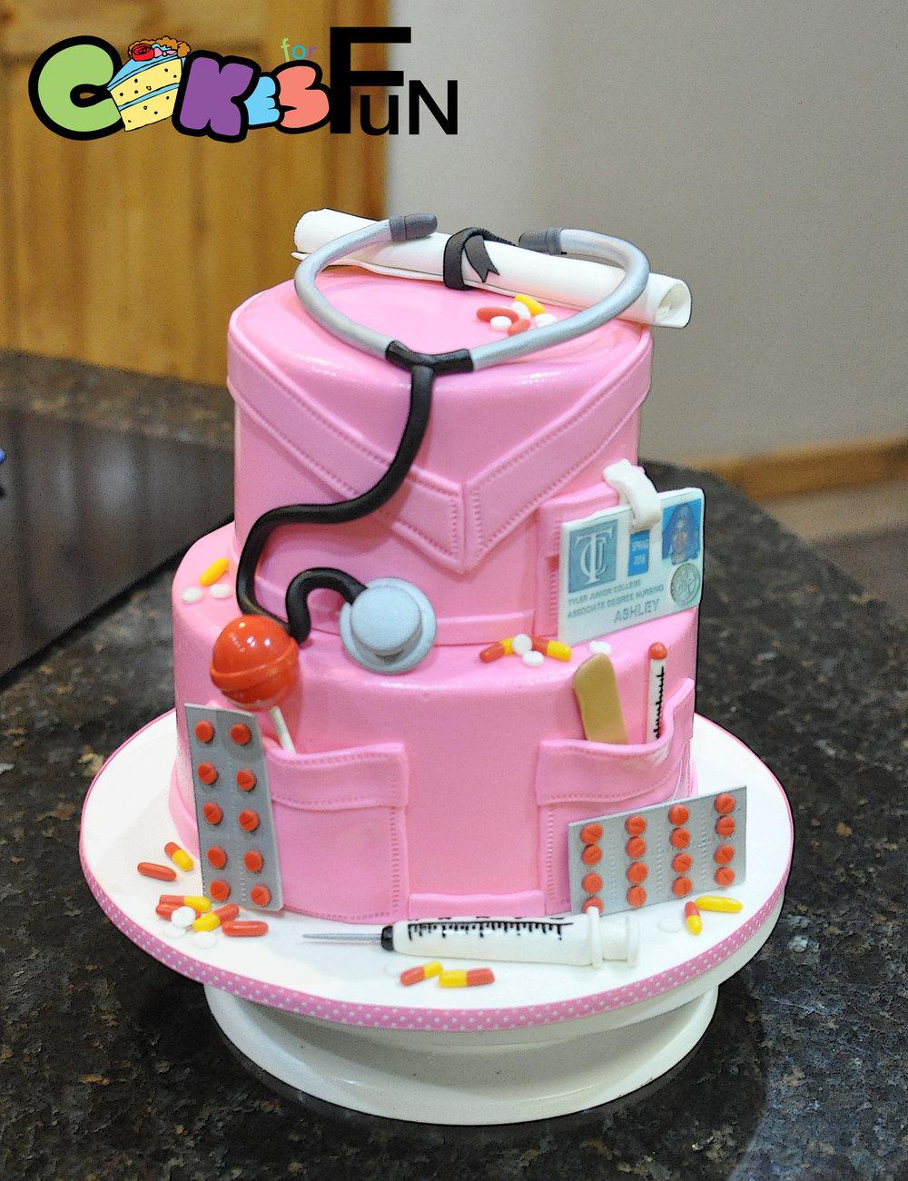 Nurses Graduation Cake.jpg