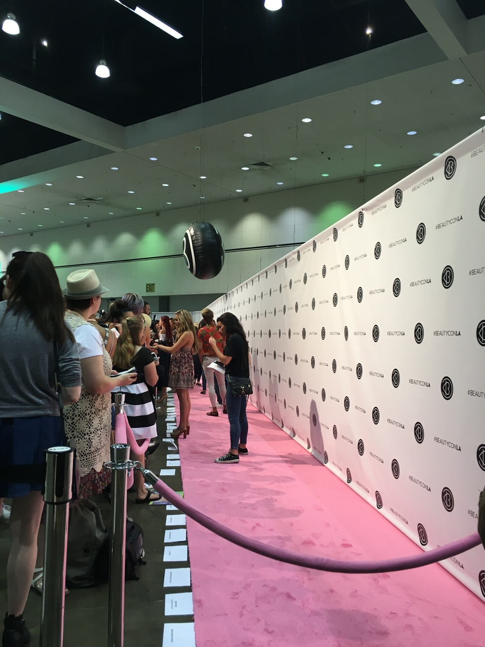 Welcome to the pink carpet (red is so last year).
