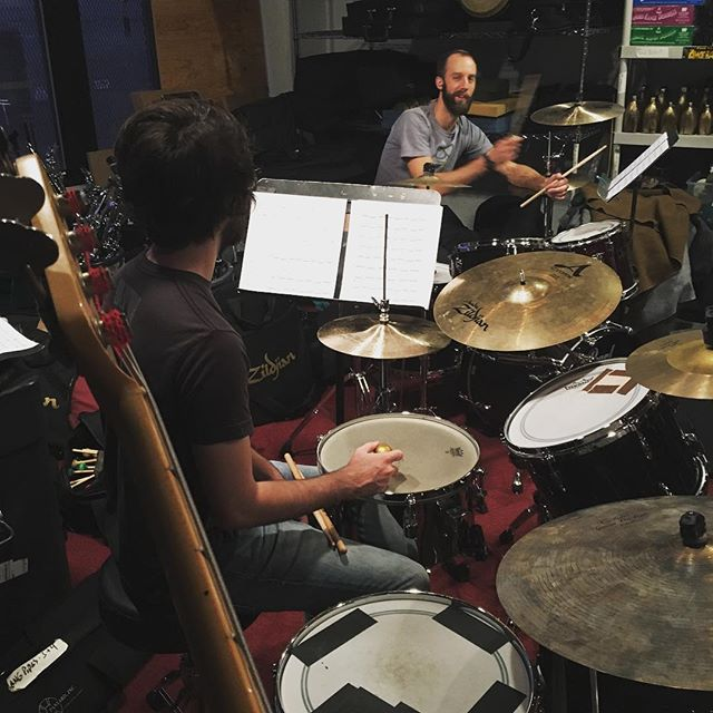 #realloud rehearses for #rightleft - october 5th at @roulette_intermedium !