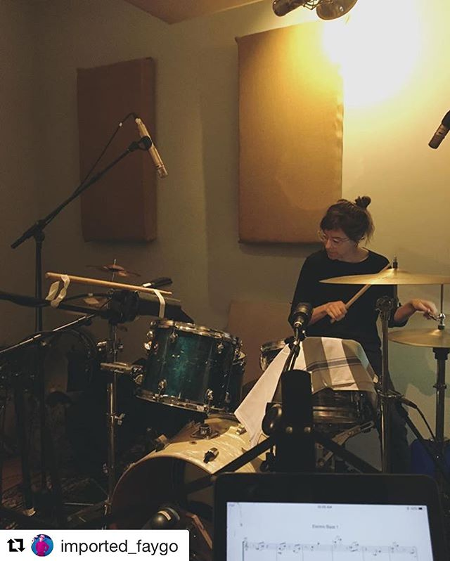#Repost @imported_faygo ・・・ Yesss Real Loud recording begins today. @clarasimisol ripped in a big way