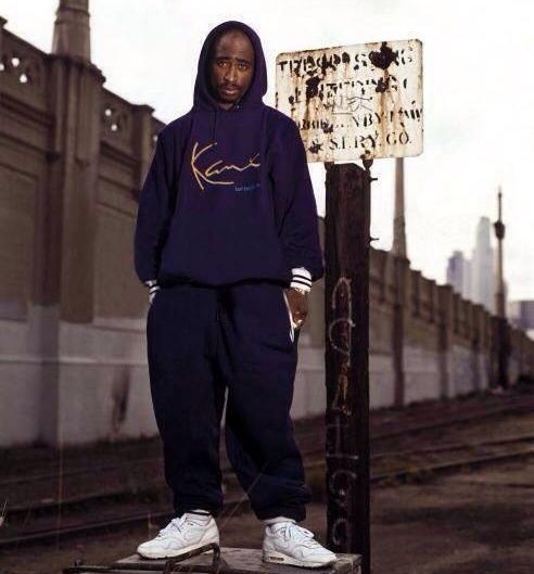 Greatest Tupac Shakur - Karl Kani Minecraft Skin LL43