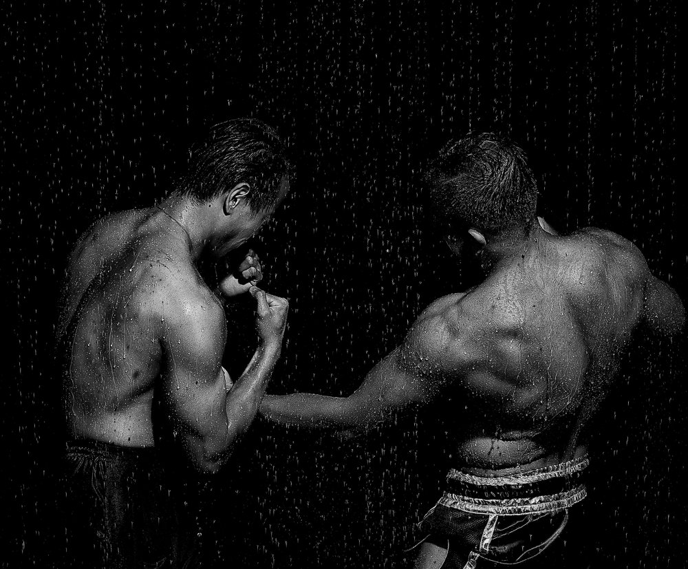 most memorable shoot: - My most memorable shoot has to be the day I built a rain machine in the studio. I had a Mixed Martial Artist, and an Army Medic pretend to fight each other, and the results turned out to be a lot better than I thought it would've been if I'm honest. I've loved photography before, but that was the day I thoroughly appreciated and realized just how much you could do with a few bits from Home Depot and a wild imagination.