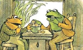 Frog and Toad Like Cookies