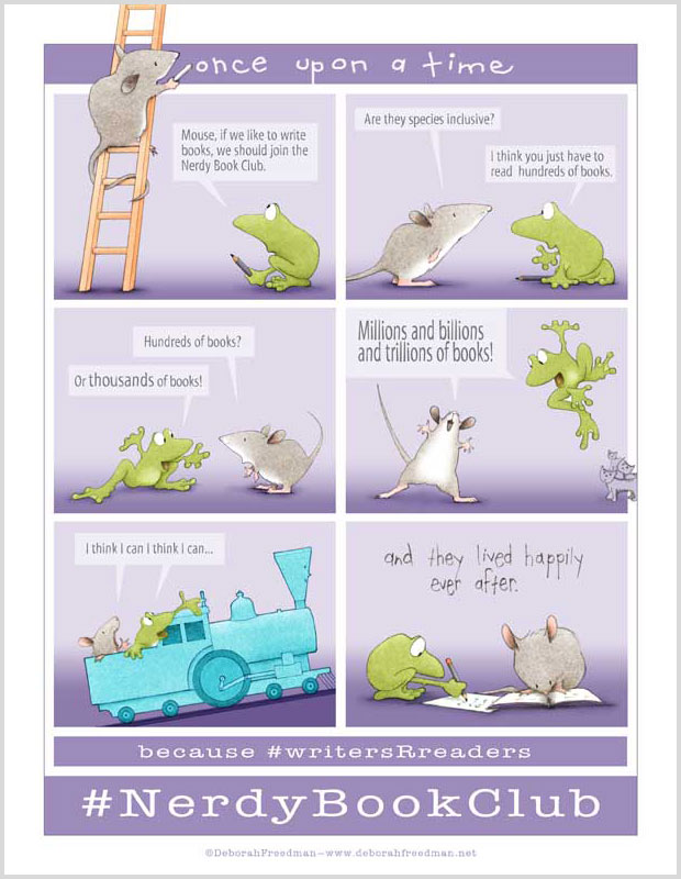 Download this poster for BY MOUSE & FROG.