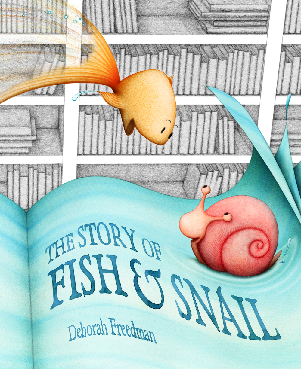 THE STORY OF FISH & SNAIL, Viking 2013