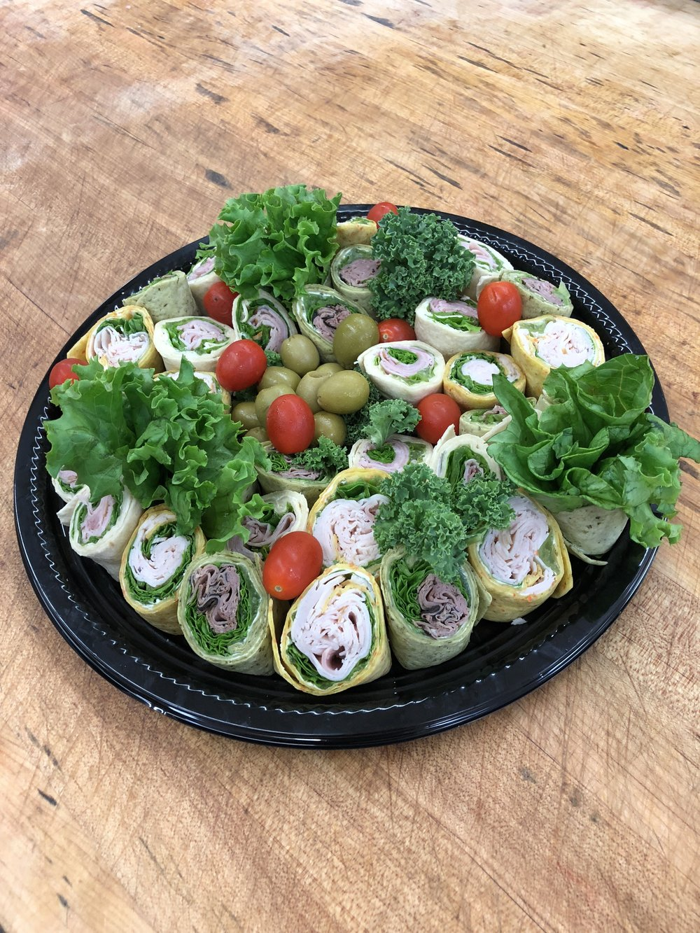 Party Platters - Tortilla Wrap - $35Meat & Cheese - $40Cold Cut Platter - $60Please Call about Ordering - (604) 438-1190