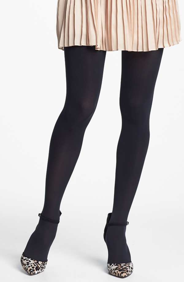 "Nordstrom ""Everyday"" Opaque Tights, $15 (2 for $24) at    Nordstrom.com ."