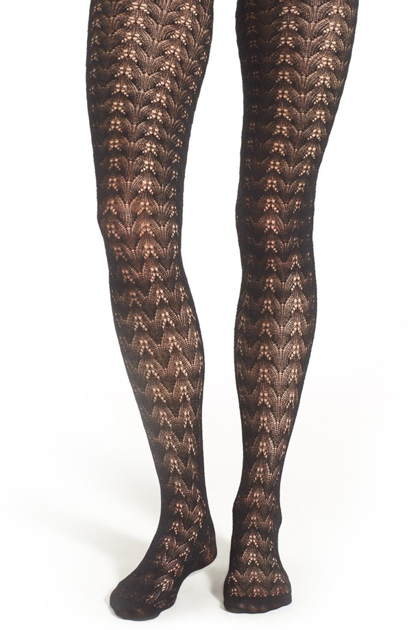 Nordstrom Textured Open Knit Tights, $28 at    Nordstrom.com   .