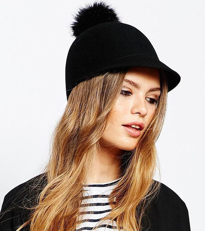 Catarzi Pom Riding Cap, $60 at    ASOS.com .