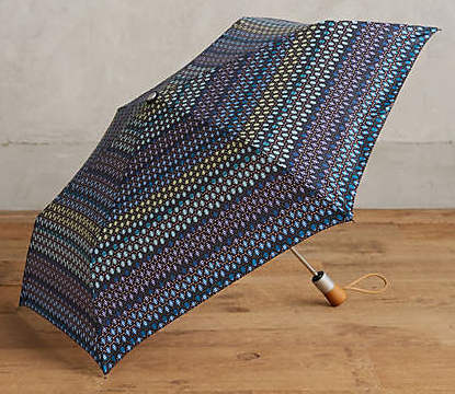 Shedrain Geo Blossom Umbrella, $34 at    Anthropologie.com .