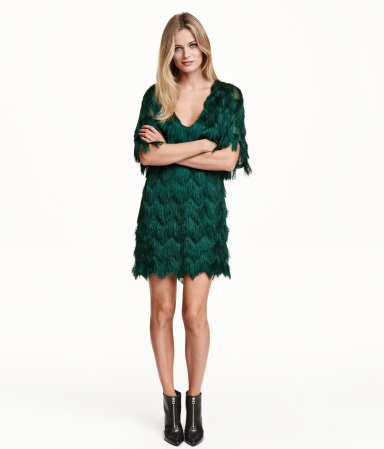 H&M Dress with Fringe, $50 at    HM.com   .
