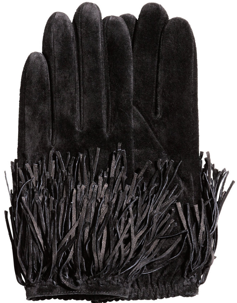 H&M Suede Gloves, $35 at    HM.com   .
