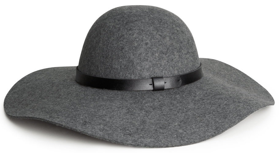 H&M Wool Hat in Gray Melange, $30 at    HM.com .