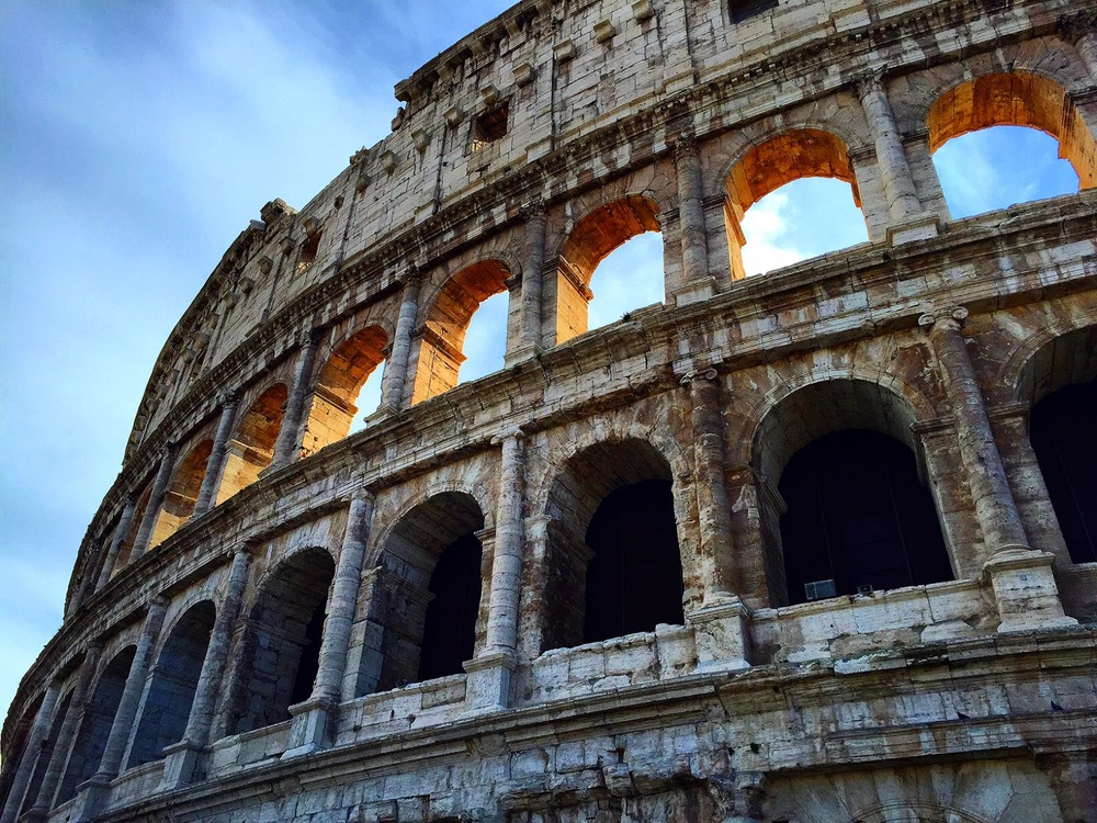 The Colosseum, Rome, Oct. 2015.