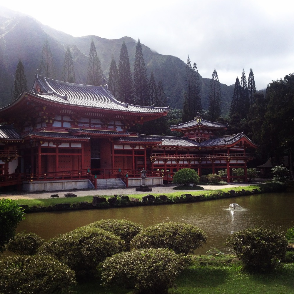 Byodo-In Temple, Valley of the Temples, Oahu, Oct. 2014