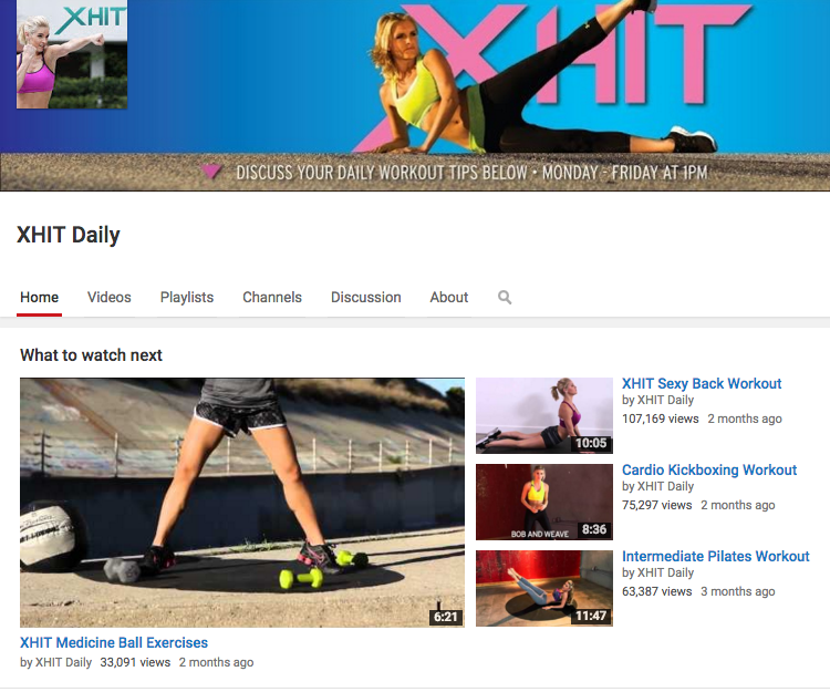XHIT Daily, Free on Youtube.com.