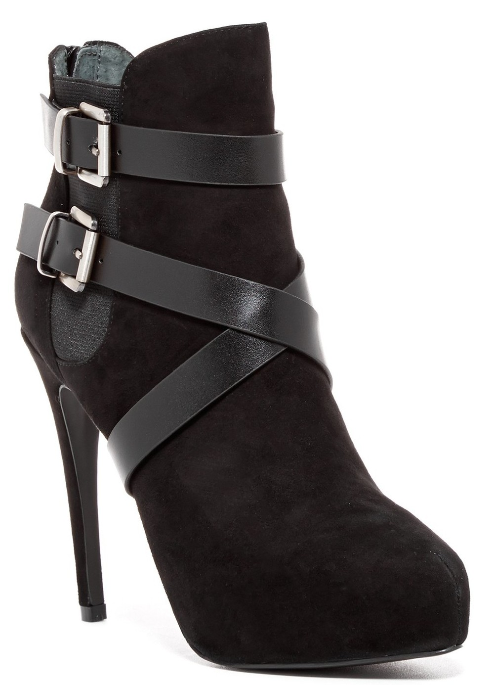 Charles by Charles David Fame Platform Bootie in Black Suede, $90 at NordstromRack.com.