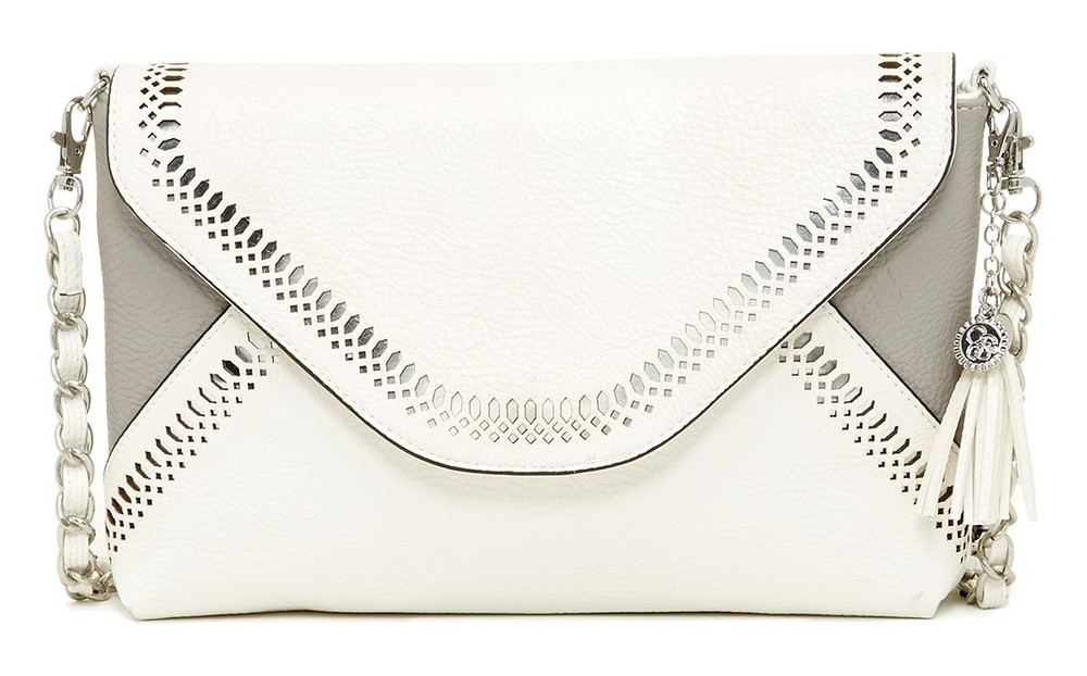 Jessica Simpson Hazel Perforated Flap Crossbody, $50 at NordstromRack.com.