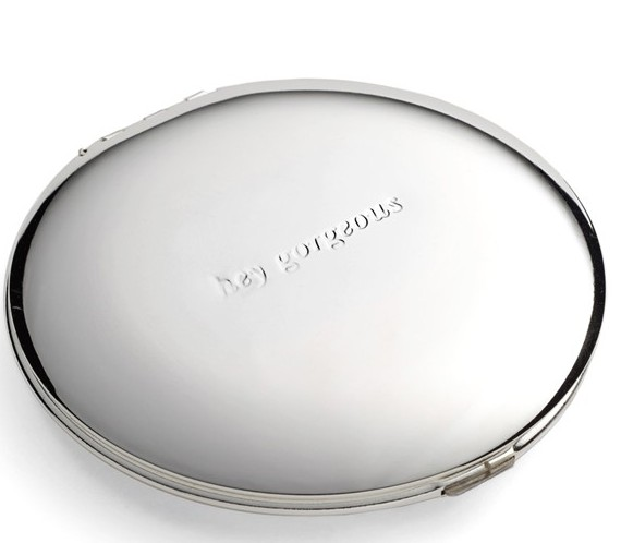 "Kate Spade New York ""Hey Gorgeous"" Compact Mirror, $30 at    Nordstrom.com ."
