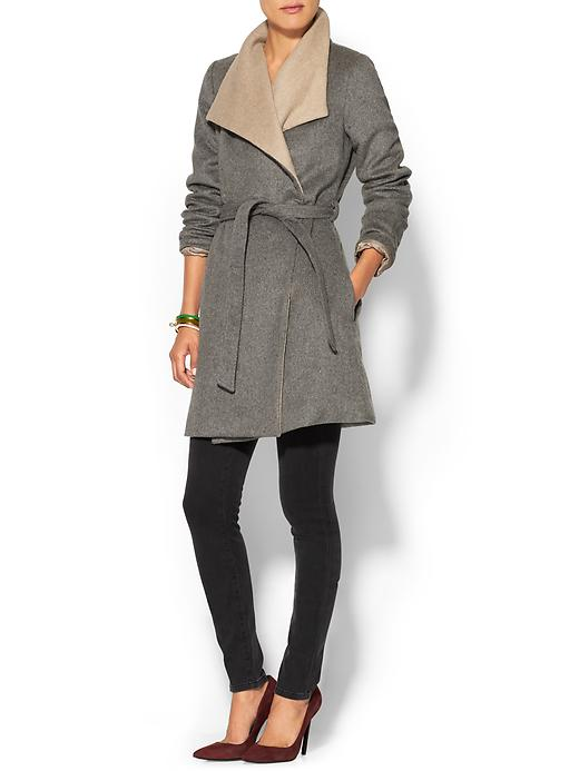 PIM + LARKIN Double Layer Wrap Coat, $159 at    Piperlime.com   .