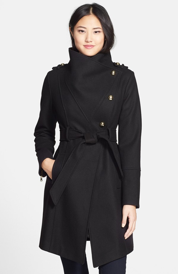Guess Wool Blend Asymmetrical Military Coat, $199 at    Nordstrom.com   .
