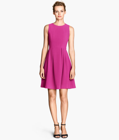 H&M Sleeveless Dress in Dark Purple, $35 at HM.com.