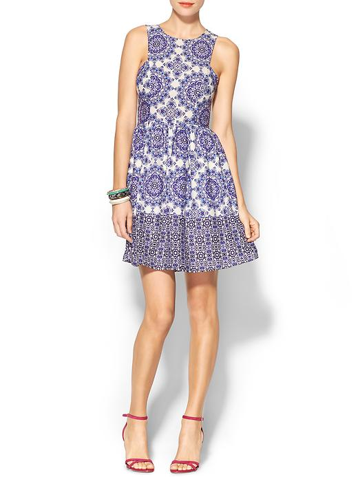 Everly Clothing Printed Midi Dress, $89 at  Piperlime.com .