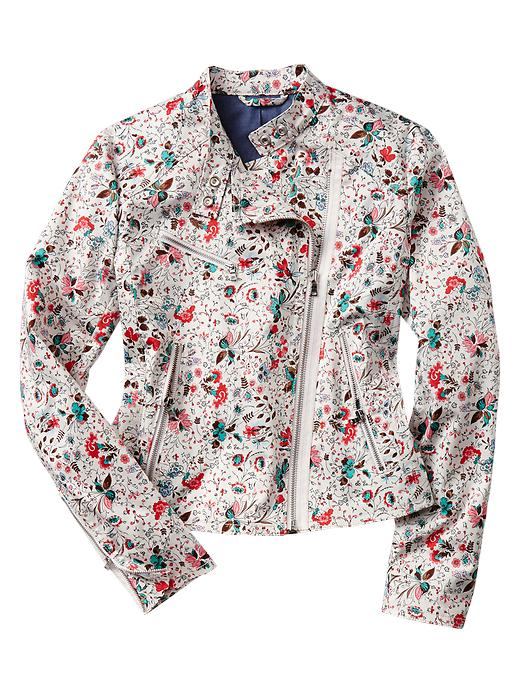 Gap Floral Moto   Jacket, on sale for $70 at   Gap.com  .