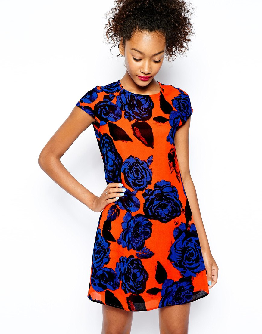 River Island Big  Floral Print Dress , $67 at  ASOS.com .