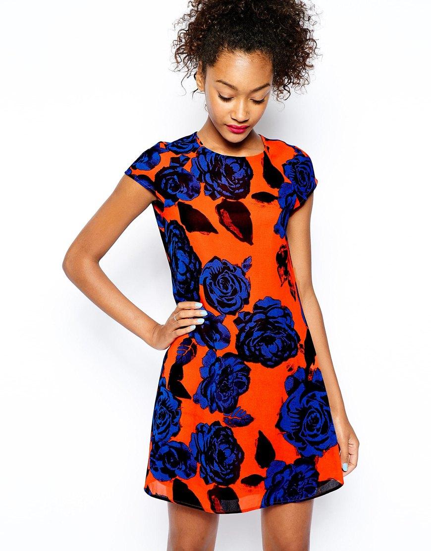 River Island Big  Floral Print Dress , $67 at  ASOS.com .