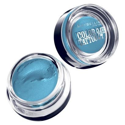 Maybelline® Eye Studio® Color Tattoo® 24HR Cream Gel Eyeshadow in Tenacious Teal, $5 at Target.com.