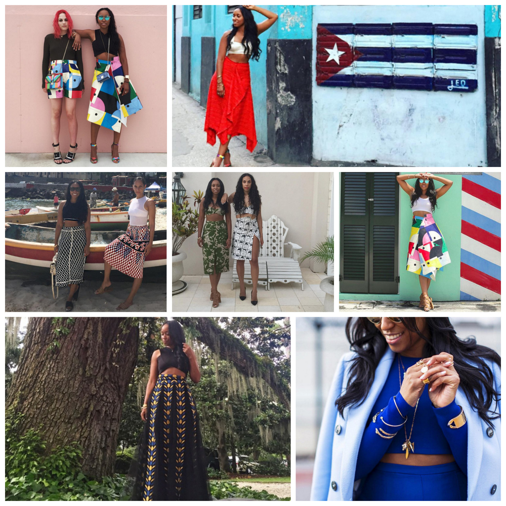 A few of Shiona's top crops, via Instagram (   @shionat   ).