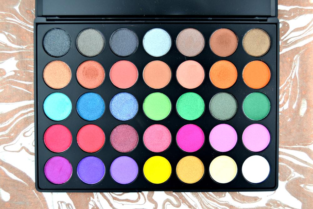Morphe 35U Multi-Color Shimmer Palette, $20 at MorpheBrushes.com.