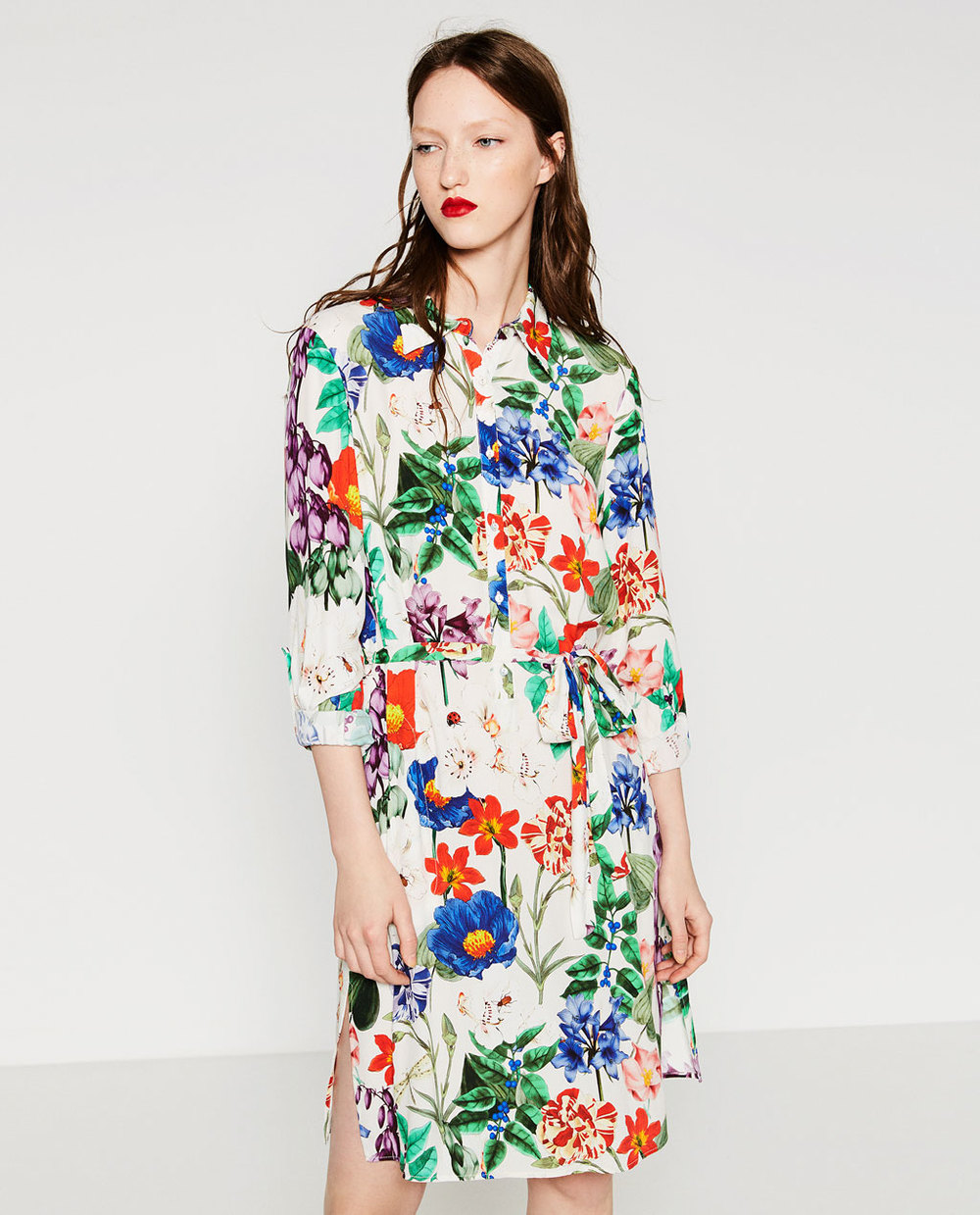 Zara Printed Tunic, $70 at    Zara.com .