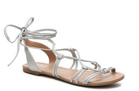 Mix No. 6 Scaglia Metallic Gladiator Sandal, $24.95 at DSW.com.