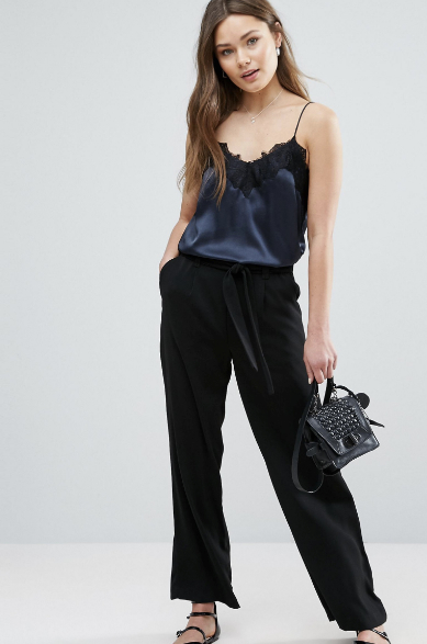 New Look Minimal Wide Leg Pants, $38 at ASOS.com.