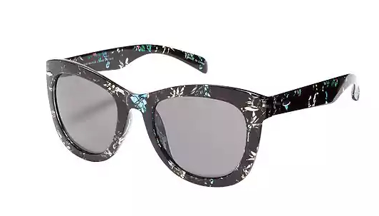 Retro-Square Sunglasses for Women in Multifloral , $6