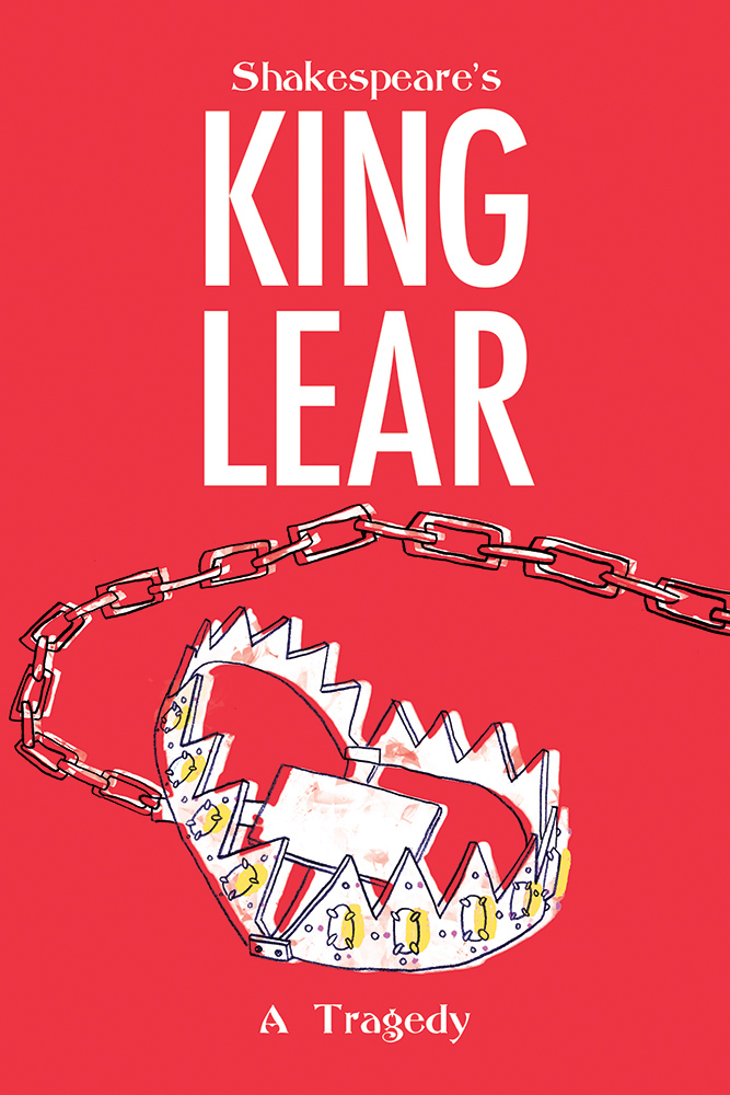 King Lear: A Tragedy - Placeholder text. Project information. About the character design. About the poster design. Place Holder Text