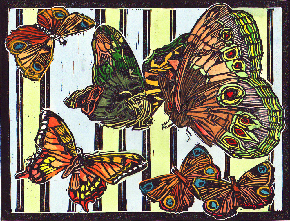 Butterflies with Stripes