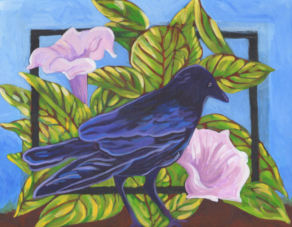 Raven and Datura 2