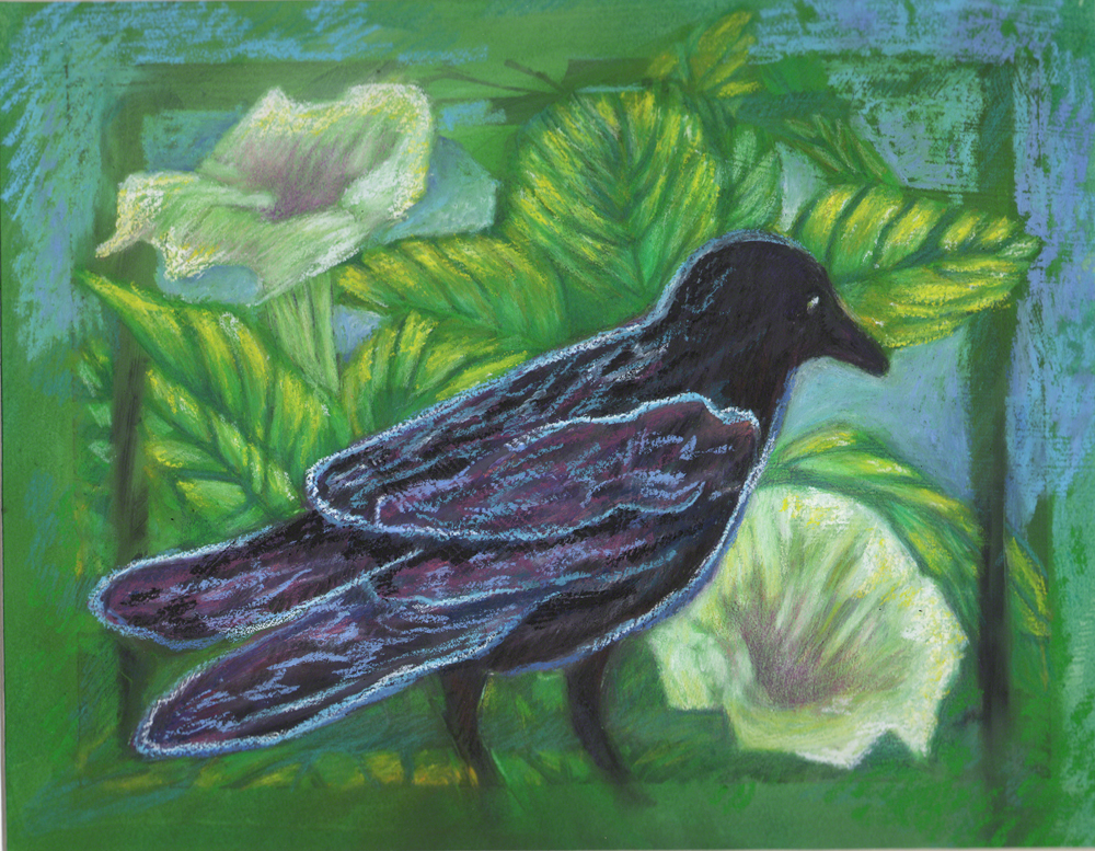 Raven and Datura 1