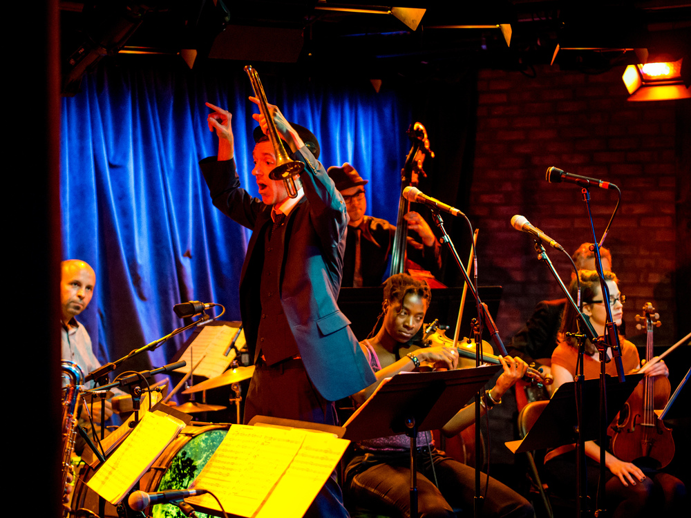 Ghost Train Orchestra at Subculture in NYC, 2013