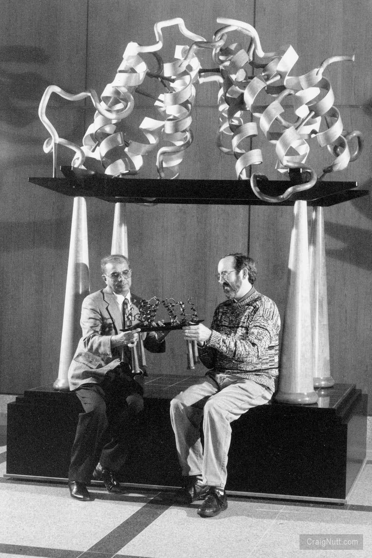 Dr. T.L. Nagabhushan and Craig Nutt