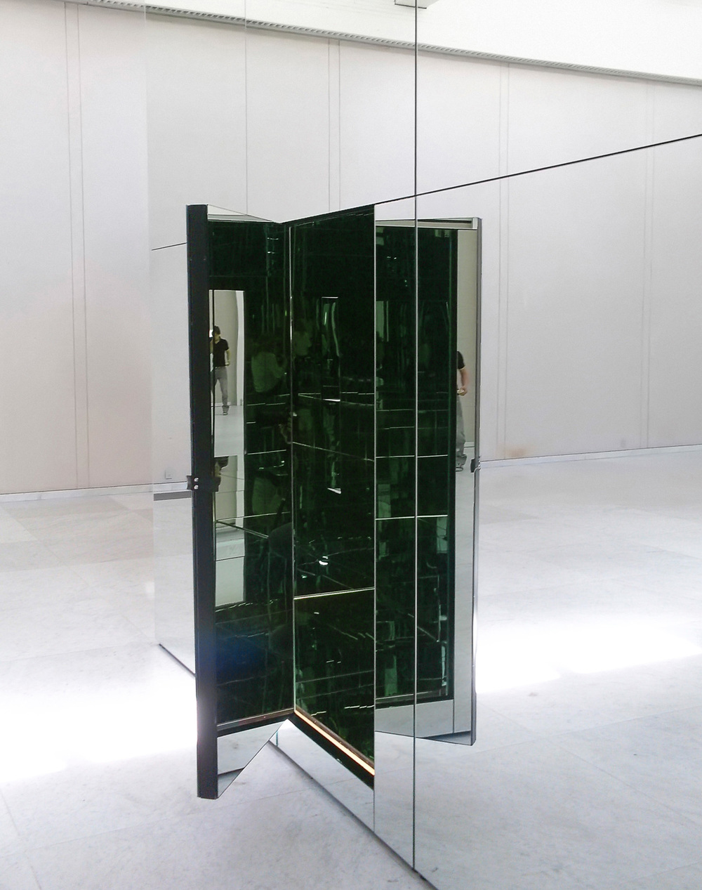 The Phoenix is closer than it appears  Thilo Frank    Museum of Modern Art Aalborg Denmark Spiegel Haus