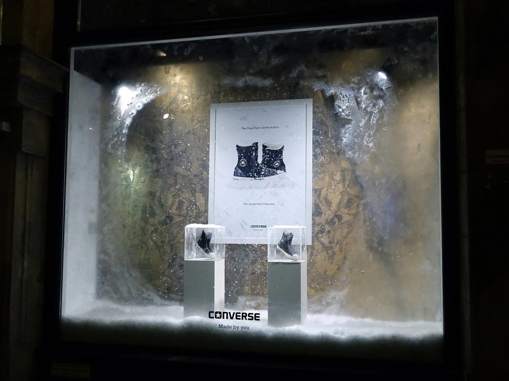 Converse Chucks Sneaker Schneemaschine Dauerschneemaschine