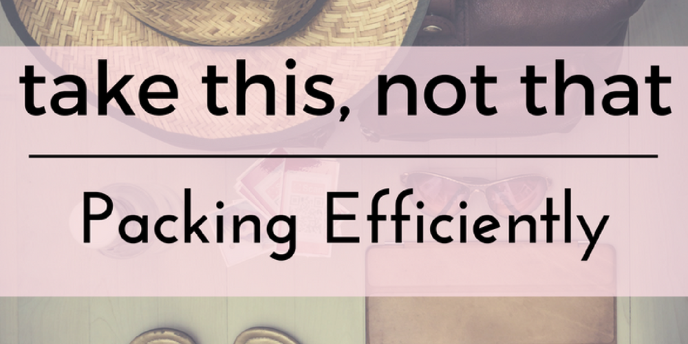 Packing efficiently can be hard... but it doesn't have to be!